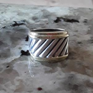 David Yurman Cigar Band Ring
